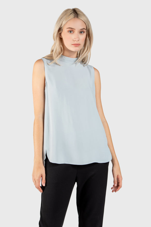 TATUM MOCK NECK TANK - LOST APRIL