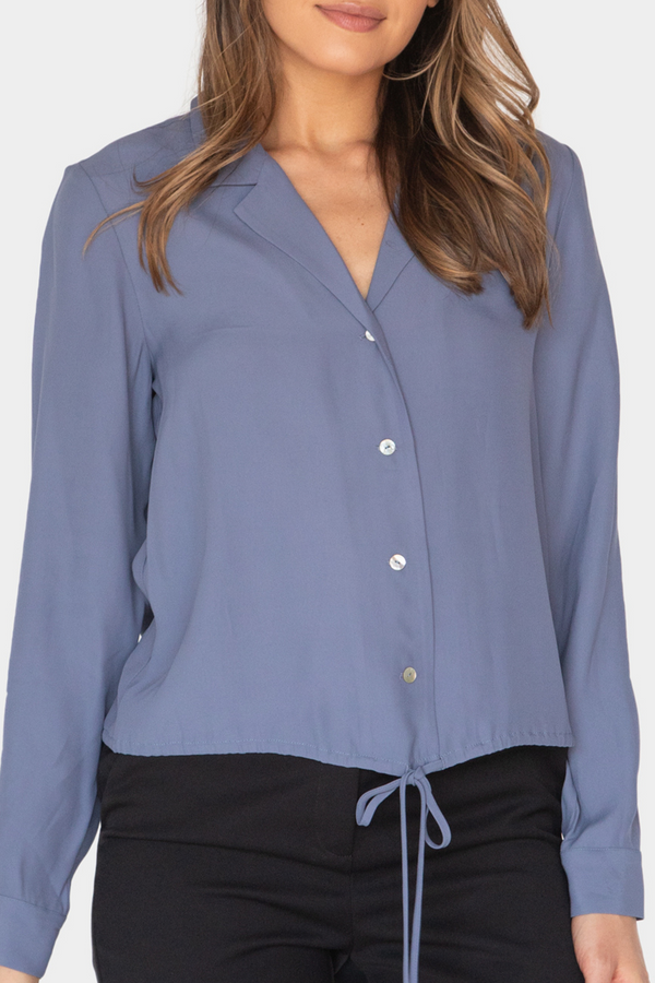 AURELIA DRAWSTRING SHIRT APRIL PRODUCT