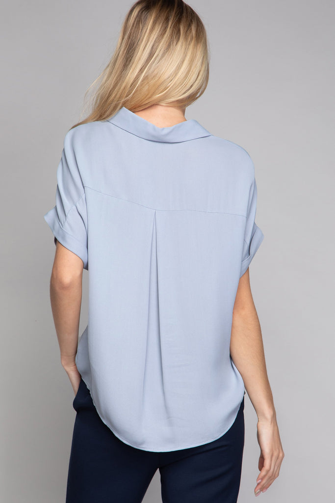 RUBI DROP SHOULDER BLOUSE