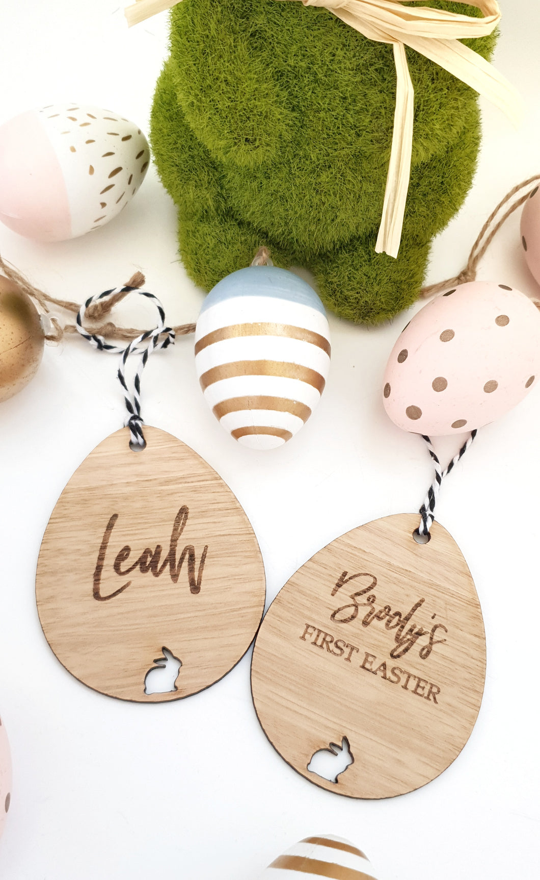 Easter Egg Basket Tag/Ornament