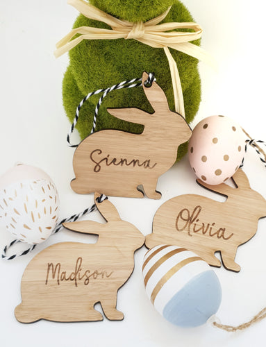 Bunny Basket Tag/Ornament