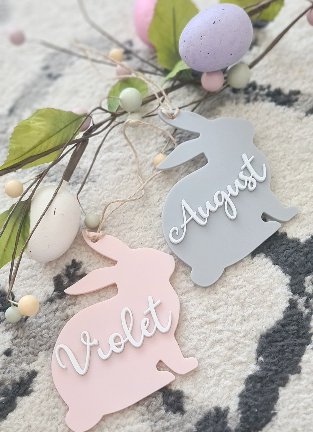 Acrylic Easter Tag