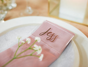 Rectangular Place Card