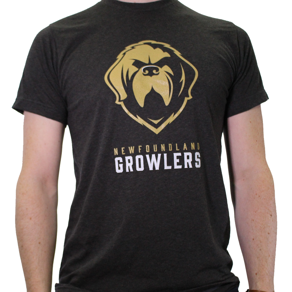 Growlers Tee Heather Black