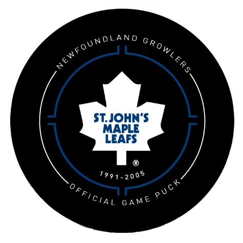 St. John's Maple Leaf Puck