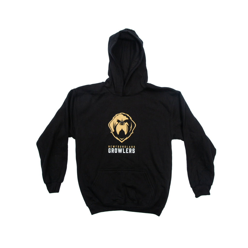 Youth Black Pullover Hoodie