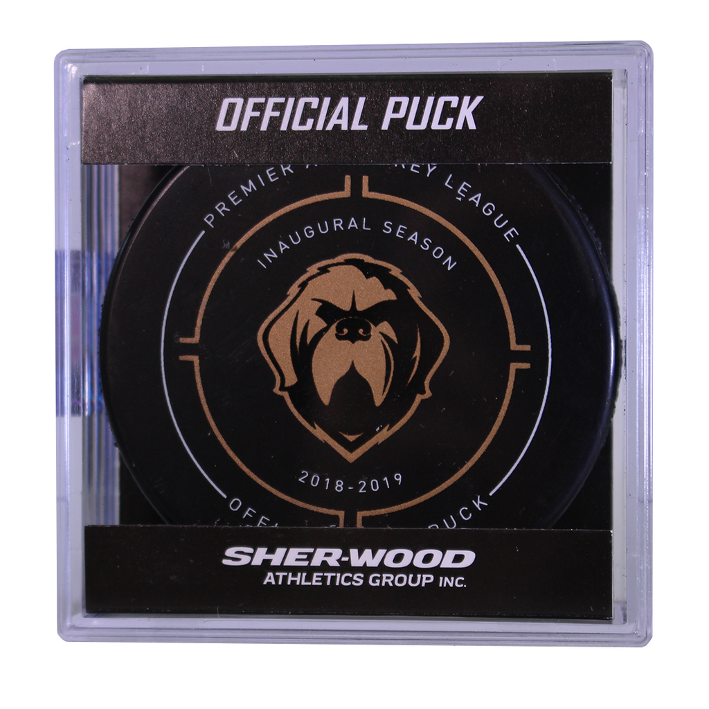 Growlers Official Game Puck in Cube