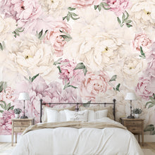 Load image into Gallery viewer, Gorgeous Peony Mural