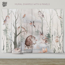 Load image into Gallery viewer, Sweet Dreamy Forest Mural