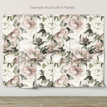 Load image into Gallery viewer, Muted Peony Mural