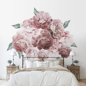 Peony Bloom Decal