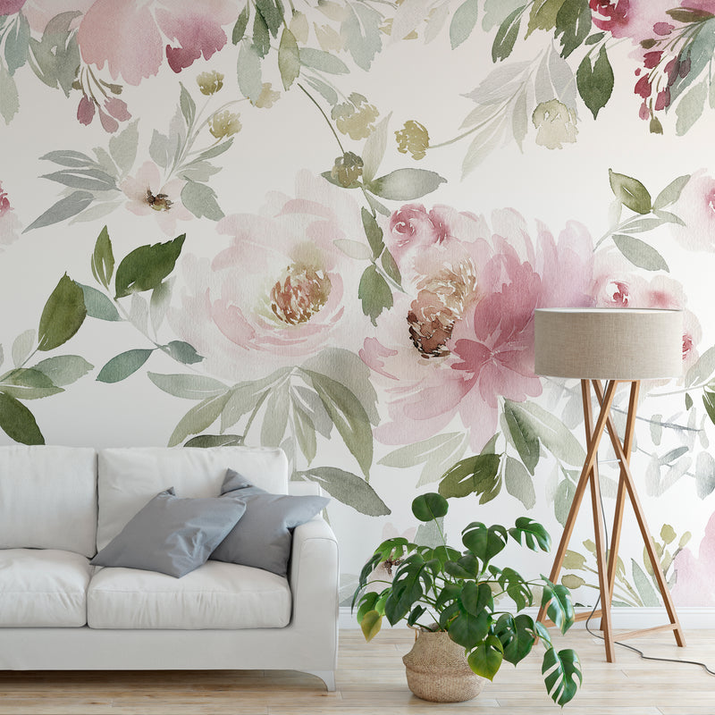Forest Floral Mural