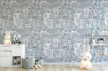 Load image into Gallery viewer, Old City Art Wallpaper Removable Self Adhesive Wallpaper Peel and Stick Wallpaper K009