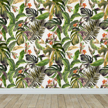 Load image into Gallery viewer, The Tropical Jungle Wallpaper Removable Self Adhesive Wallpaper, Peel and Stick Wallpaper A082