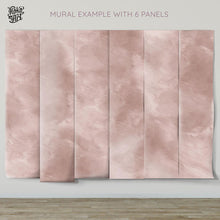 Load image into Gallery viewer, Mauve Dust Minimalist Mural