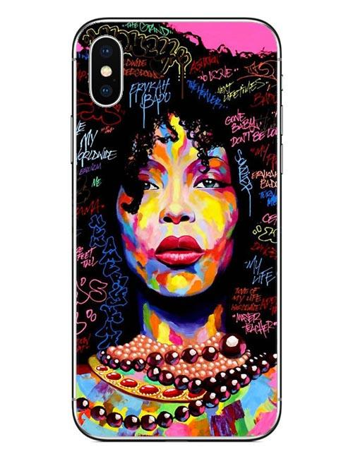 Erykah Badu Iphone Case For X 10