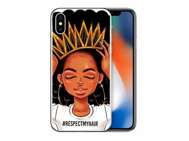 Respect My Hair Iphone Case Case