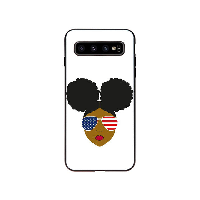 AFRO-AMERICAN SAMSUNG CASE