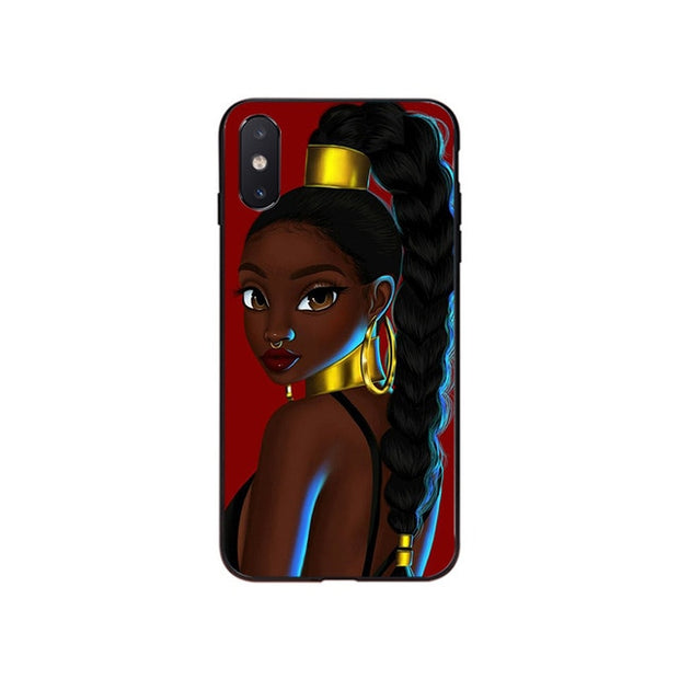 PRINCESS AFRICA IPHONE CASE