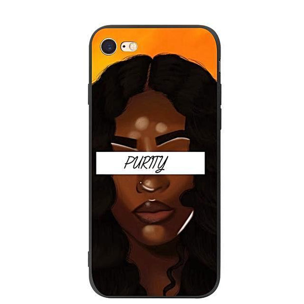 Iphone Melanin Cases Purity / For 5 5S Se