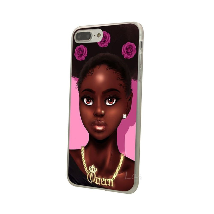 Afro Queen Iphone Case