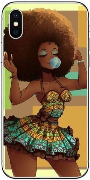 Afro Beauty Iphone Case For X 10
