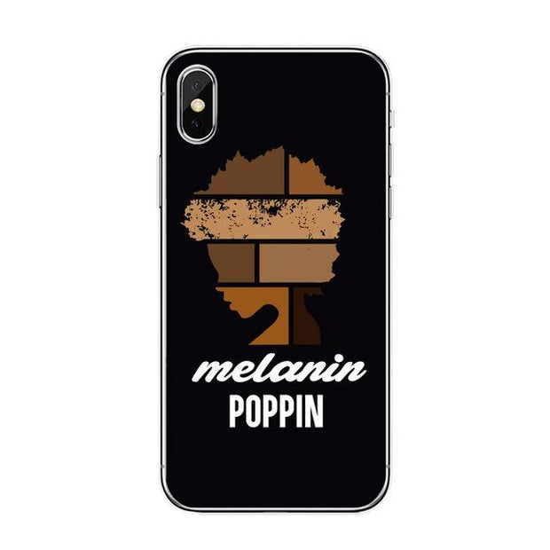 Melanin Poppin Vi Iphone Case Tpu D1210 / For 7 Plus Case