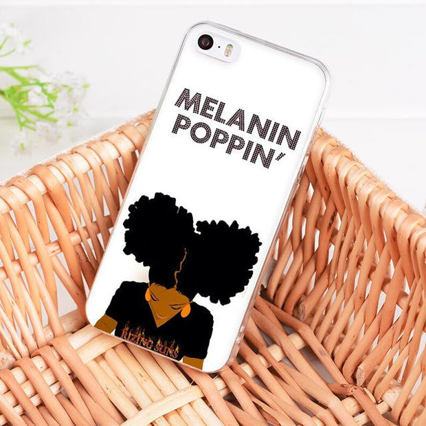Afro Puffs Iphone Case For 7Plus