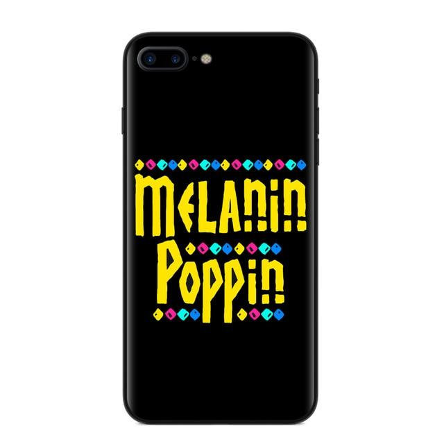 Melanin Poppin Yellow Iphone Case For X