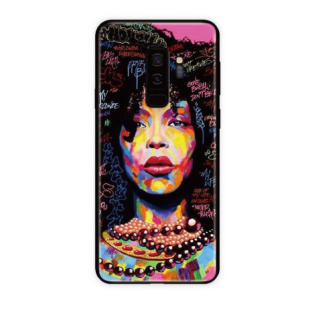 Erykah Badu Samsung Case (Note And Galaxy) S8