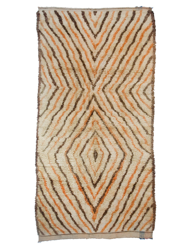 Desert Dreaming - Wild and graphic Eastern High Atlas rug