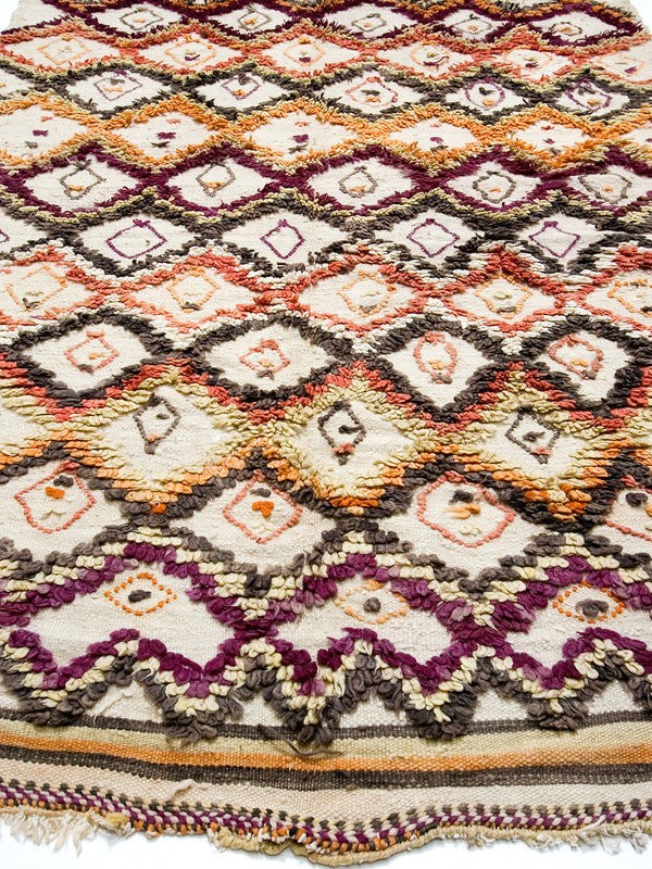 Eastern Promises - Rare Eastern High Atlas mixed weave 'Asachu'