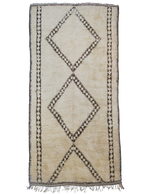 Double Diamonds -Beni Alaham rug
