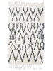 Berber Bath Rug - Tents (large)