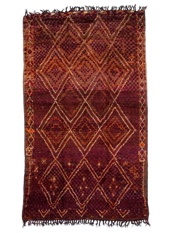 Aubergine Dreaming - Lovely Beni Bou Yahi female rug