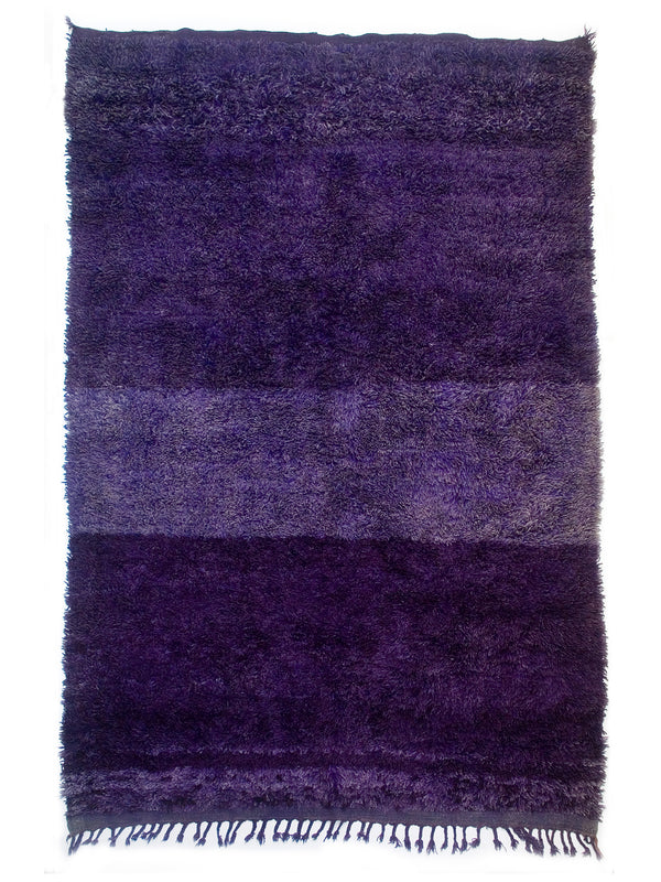 Rothko's Dream - Lovely lavender Beni Mguild sleeping rug