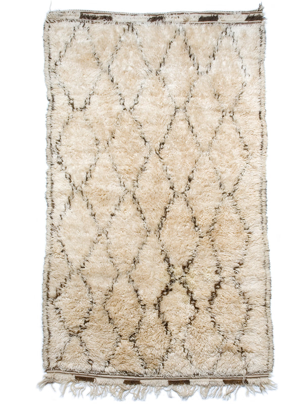 Woolly Mammoth - wonderfully thick Beni Ouarain sleeping rug