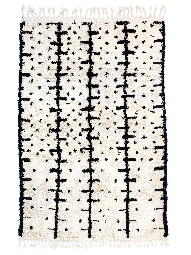 Berber Bath Rug - Abstract (XL)