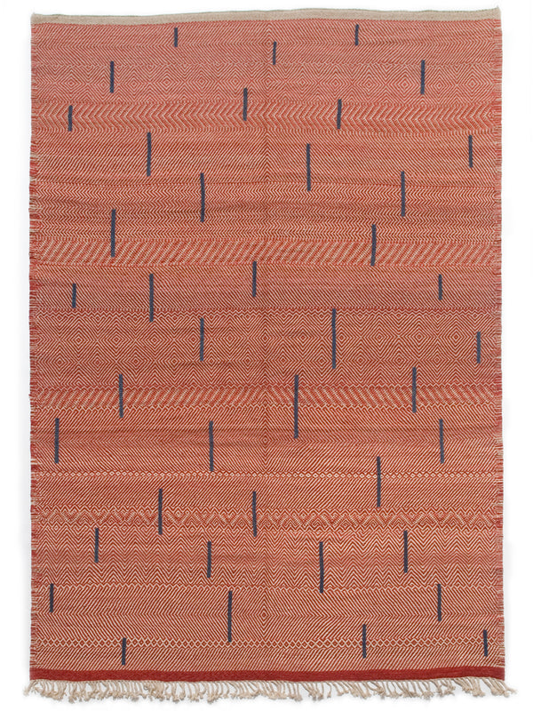 Berber Bars - Contemporary collection flat weave rug