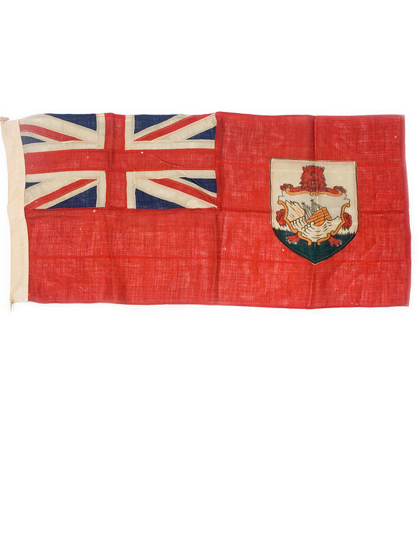 Vintage flag of Bermuda