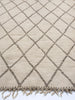 Diamond Dreams - Beni Ouarain loop pile rug (Bnchgra)