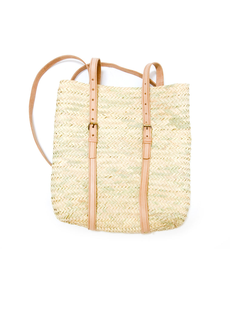 Palm Frond Market Bag - Knapsack