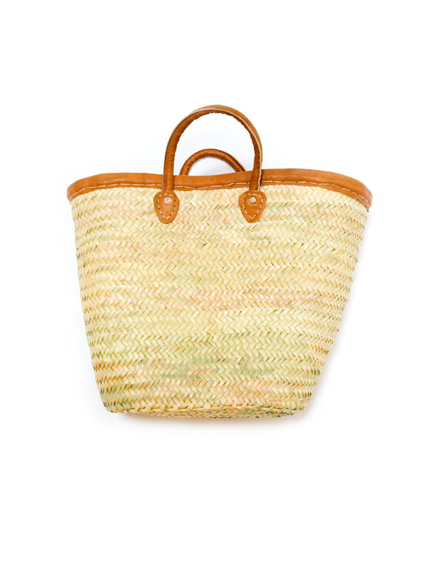 Palm Frond Market Bag - short handle