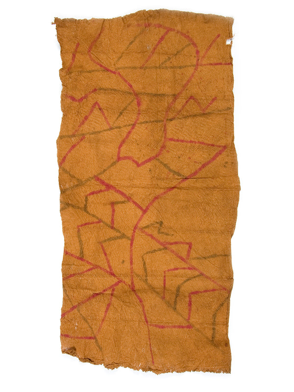 Vintage Mbuti Pygmy bark cloth