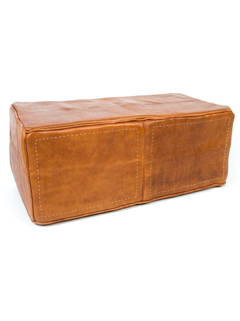 Admirable Heavy Leather Rectangular Ottoman Leather Only Ibusinesslaw Wood Chair Design Ideas Ibusinesslaworg