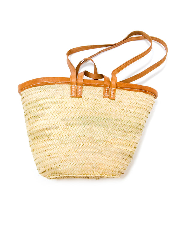 Palm Frond Market Bag - double handle
