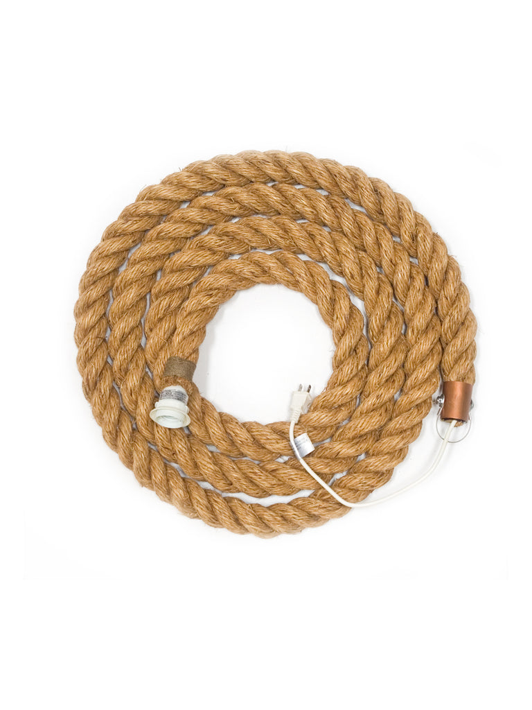 "Atelier Nomade original - manila rope light (1.5"" dia.)"