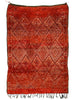 Fire Dreaming - Excellent double sided Zayan rug