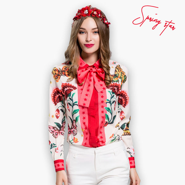Eden Blouse, Blouse, Paradise drive, Street Paradise online shop - free worldwide shipping