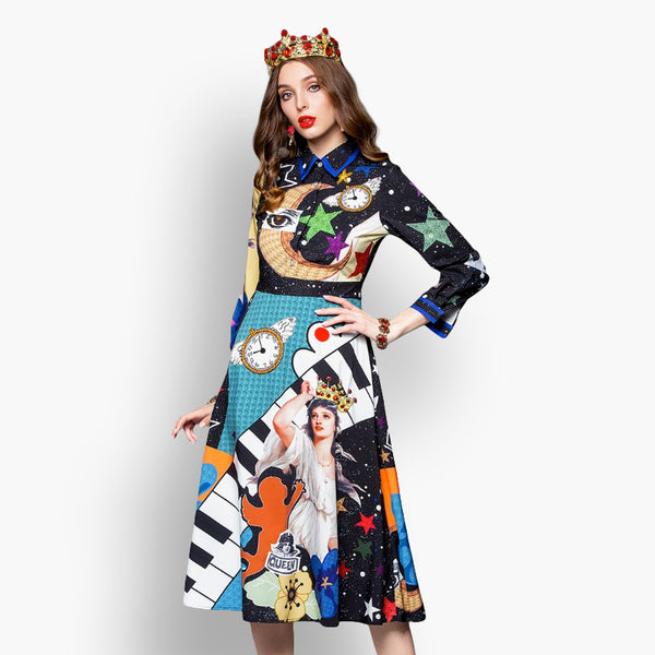 Dream Land, Long Dress, Paradise drive, Street Paradise online shop - free worldwide shipping